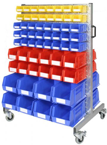 Double Sided Trolley with Bins (B)